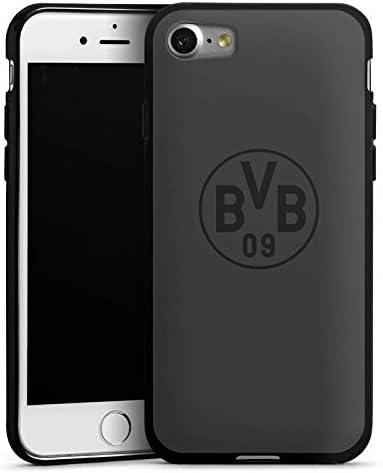 DeinDesign Silikon H/ülle kompatibel mit Apple iPhone 7 Case Schutzh/ülle Borussia Dortmund Logo BVB