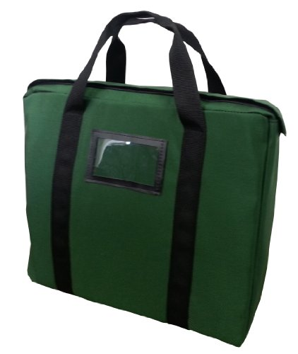 fire-resistant-briefcase-style-bag-lockable-forest-green
