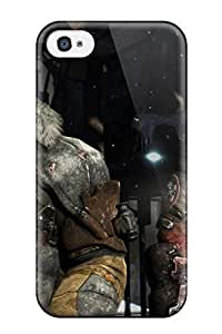 Durable Defender Case For Iphone 4/4s Tpu Cover(isaac Clarke And John Carver) hjbrhga1544