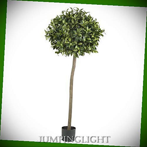 - JumpingLight 5310 5' Sweet Bay Ball Topiary Silk Tree Artificial Flowers Wedding Party Centerpieces Arrangements Bouquets Supplies