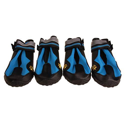 B Blesiya 4X Zapatillas Impermeable Zapatos De Escalada Instalación De Laboratorios Producto Laboral - Azul 6, como se...