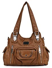 Scarleton Fashion Decorative Zipper Shoulder Bag is a stylish bag for all seasons and any occasion where you want to look sharp, yet have all your essentials at hand. This functional purse is well equipped with lots organized storage, enough ...