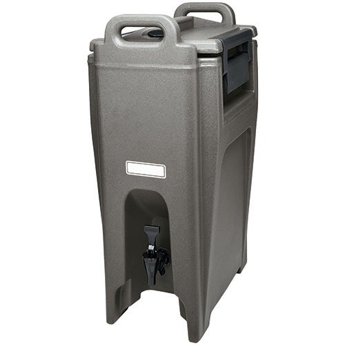 - Cambro UC500110 Ultra Camtainer Beverage Carrier, Insulated Plastic, 5-1/4 Gallon, Black, NSF