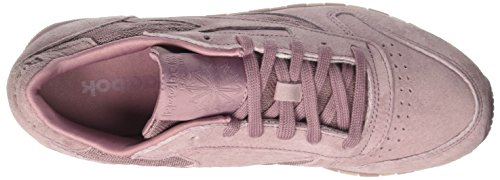 Reebok Classic Leather Lace, Baskets Femme Violet (Smoky Orchid/White)