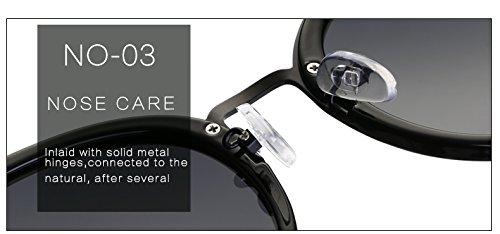 soleil AT9005 Lunettes soleil C4 C2 lunettes Miroir de Case Marque Femme Rouge Mirrlr Ovale dames zonnebril de Vogue polaris¨¦es Fygrend Luxe ZFwtAnPZ