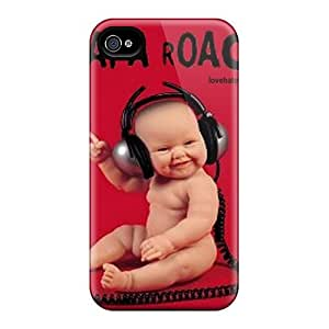 Hot New Papa Roach Case Cover For Iphone 4/4s With Perfect Design