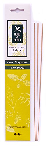 Jasmine - Herb and Earth Incense From Nippon Kodo - 20 Stick Package