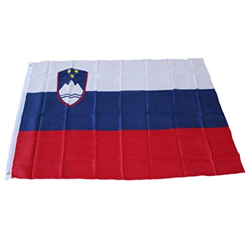 Iuhan® Fashion 3ft x 5ft Slovenia National Flag Large Banner