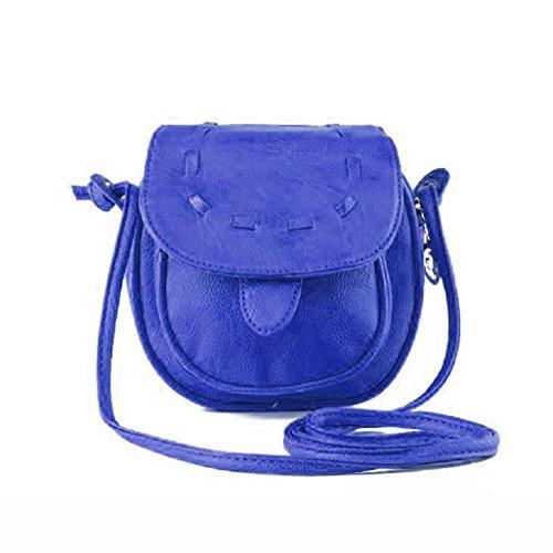 Handbag Pu Shoulder Girl Adjustable Small Leather Blue Cute Bag Mini Green Lovely Vovotrade® qBgtvw4x