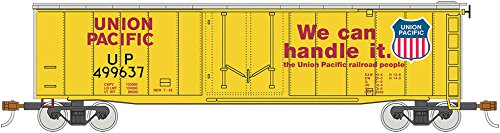 Bachmann Trains 50' Plug Door Box Car - Union Pacific #499637 - HO Scale Bachmann 50' Plug Door Box