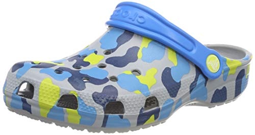 Clog Grigio Grphc Grey Zoccoli Seasonal Classic Crocs light Bambini K Unisex 007 CHqf1w