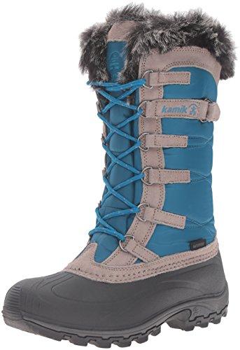 Kamik Damen Snowvalley Boot Blaugrünes Blau