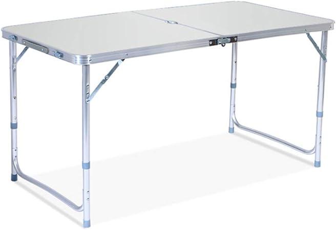LIW Mesa Plegable, mesas portátiles de Altura Ajustable, para ...