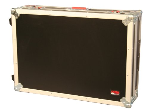 Gator Cases Rolling ATA Style Mixer Road Case with Fully Adjustable Interior and Stackable Ball Corners; 20