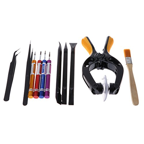 MagiDeal Universal Tools Kit for iphone MacBook,Desktop Computer,Laptop,Notebook,Android,Tablet,Electronics Multipurpose 19-Piece Precision Screwdrivers Repair Tool Set by Unknown