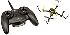 The tiny Nano QX is RC flying fun you can take with you everywhere. The Nano QX weighs little more than half an ounce and is small enough to fly in spaces no bigger than an office cubicle. Never flown a quad-copter before? No problem. The Nan...