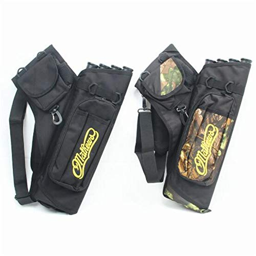 ShiningLove 4 Tubes Hip Arrows Quiver Tube Arrows Archery Carry Bag Holder Portable Waist Strape Hunting Bag