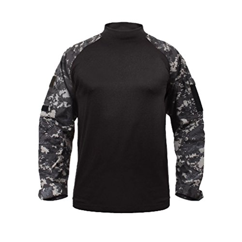 Military Combat Shirt Lightweight Tactical Army No Melt Drip Resistant Fabric