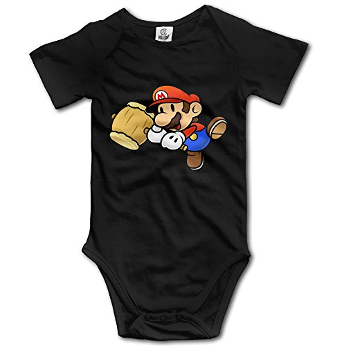 [Super Mario Fist - POY-SAIN Fashion Infant Baby Climb Jumpsuit Size18 Months Black] (Sims 3 Seasons Costumes)