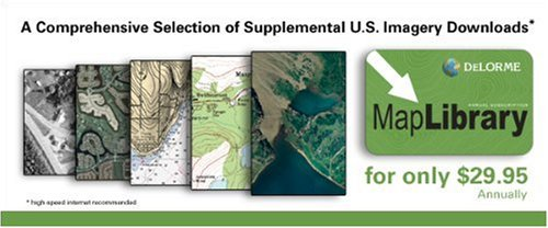 DeLorme Map Library Subscription Card for Topo USA 8.0 and Earthmate PN Series GPS Navigators by Delorme