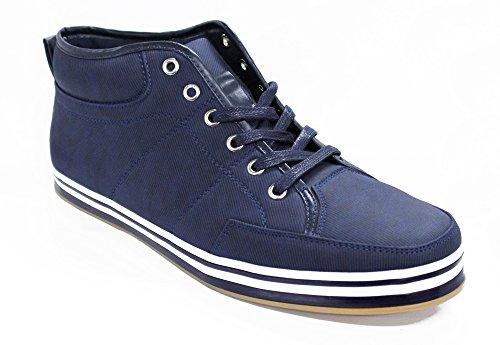 Ak collezione , Baskets pour homme bleu bleu 45