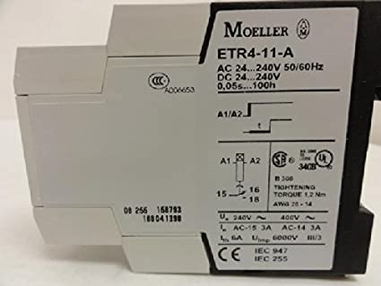 50060 on delay 0,05s-60H Moeller DIL et 11-M-A Timing relay
