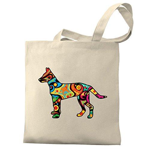 Eddany Psychedelic Dutch Shepherd Dog Bereich für Taschen