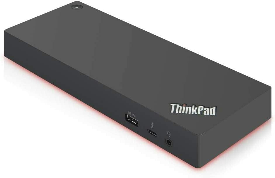 USB 3.1 USB-C Lenovo ThinkPad Thunderbolt 3 Dock Gen 2 135W 2 DP 2 HDMI Dual UHD 4K Display Capability 40AN0135US