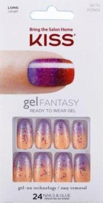 Amazon.com : Kiss Gel Fantasy Nail Kit - Charmed Life (Pack of 2 ...