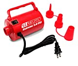 Sun Pleasure EZ Inflate High Volume AC Air Pump - Inflator Deflator Air Pump With 3 Universal Nozzles - Electric Air Pump For Inflatables, Airbeds, Inflatable Pool (Extreme 2.0 PSI)