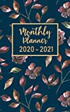 """monthly planner 2020-2021: 2 year calendar pocket planner ( 5 x 8 """" small size ) : 24 month : January 2020 - December 2021 : time management / Schedule Organizer / Appointments"""