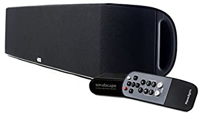 Paradigm SHIFT Series Soundscape Full Powered Soundbar with apt-X Bluetooth (Black)