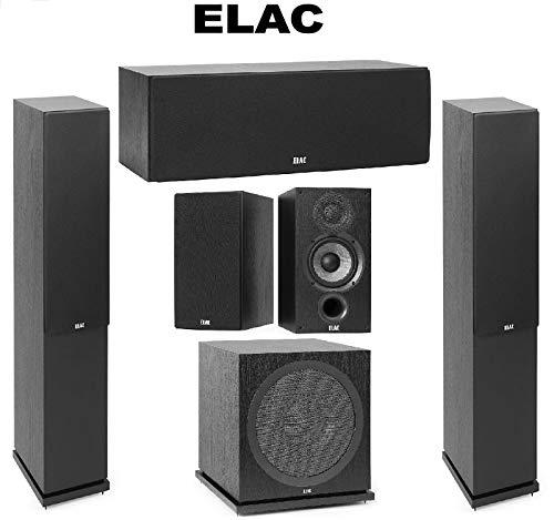 Elac (1 Pair) Debut 2.0 F5.2 Tower Speaker 2.0 C5....