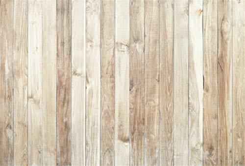 Yeele Wood Floor Backdrops 5x3ft /1.5 X 1M Light White Wood Grain Vertical Stripes Wooden Board Adult Artistic Portrait Photoshoot Props Photography - Stripes Wallpaper Bella