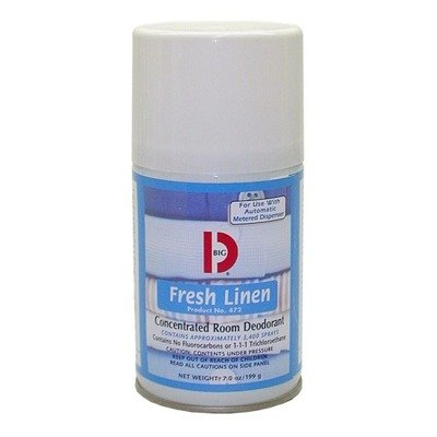 Concentrated Room Deodorants (BGD472 Metered Concentrated Room Deodorant, Fresh Linen Scent, 7 oz Aerosol)