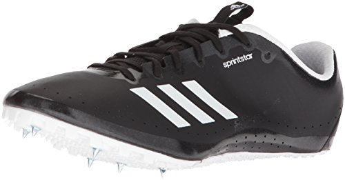 adidas Women's Sprintstar w, core Black/Orange/White 11.5 M US by adidas (Image #1)