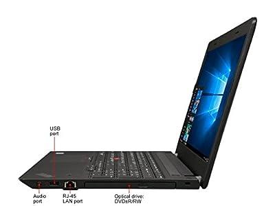 2018 New Lenovo ThinkPad E570 15.6 FHD IPS High Performance Business Notebook, Intel i5-7200U 2.5GHz up to 3.1GHz, 8GB DDR4, 256GB SSD, DVDRW, Bluetooth, USB 3.0, HDMI, Webcam, Windows 10 Professional