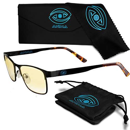 Anima Computer/Gaming Blue Light Glasses - Blue Light Blocking Glasses to Reduce Digital Eyestrain/Fatigue