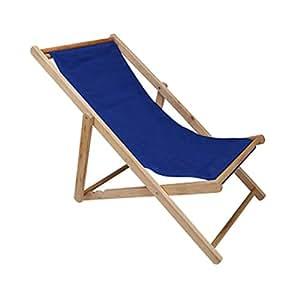 YXXHM- Silla de Playa al Aire Libre Plegable de Madera ...