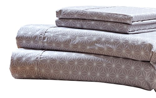 RT Designers Collection Solar Printed 4-Piece Sheet Set, Full by RT Designers Collection