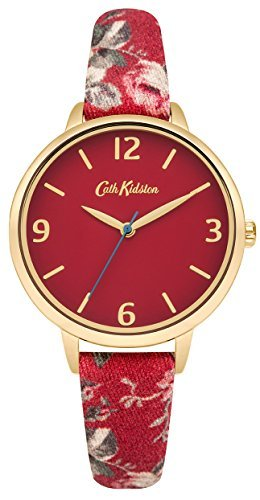 [Cath] Cath Kidston watch 3 needle floral CKL002RG Ladies [regular imported goods] by Cath Kidston (Cath)