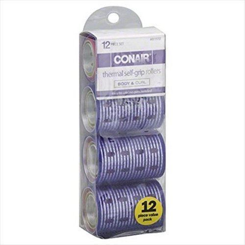 ConAir Thermal Self Grip Rollers - 12 Pack