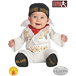 Rubie's Costume Co. Baby Boys' Elvis Costume, Multicolor, 0-6 Months