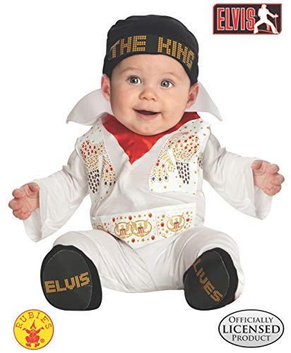 Halloween Costume Ideas For 3 Month Old (Rubie's Costume Co. Baby Boys' Elvis Costume, Multicolor, 0-6)