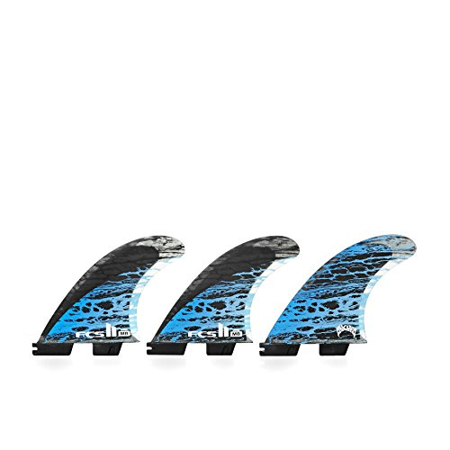 FCS II MB PC Carbon Thruster Surfboard Fins