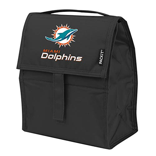 Kolder NFL Miami Dolphins Freezable Lunch Bag, Large, Green
