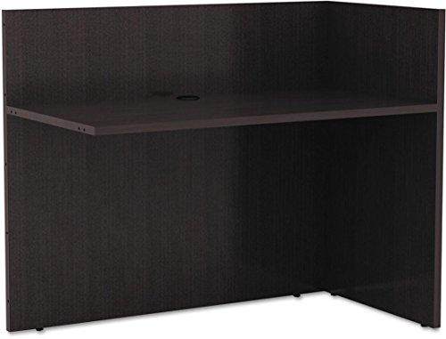 ALEVA324424ES - Alera Valencia Reversible Reception (L-shaped P Top Desk)