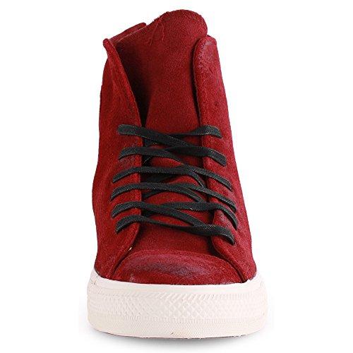 chic Converse Chuck Taylor Back Zip Hi (Unisex) Unisex Sneakers Shoes  144690C Size 12