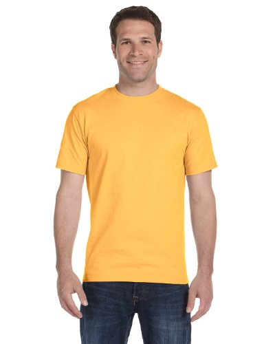 Hanes 5180 Beefy T Adult Short-Sleeve T-Shirt Size 3XL, Gold Nugget Yellow (Nugget Gold T-shirt)
