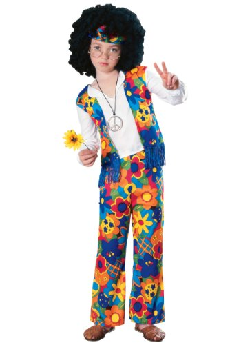 [Hippie Boy Kids Costume] (Throwback Halloween Costumes)